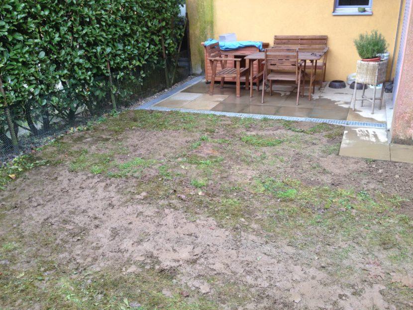 Drenaggio giardino